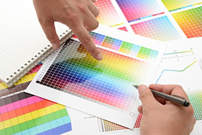 Color Chart Marketing Graphic